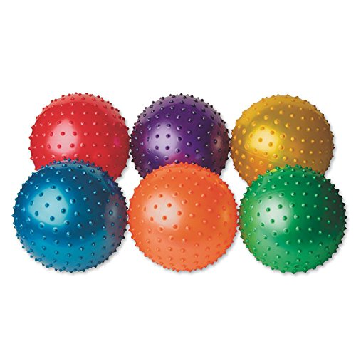 Spectrum Spikey Play Balls (set of 6)