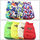 Alcoa Prime Double Side Dog Cat Coat Jacket Pet Supplies Clothes Winter Clothing Puppy Costume Double Side Wearable...
