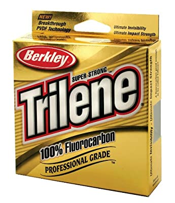 Berkley Trilene TFPS8-15 Fluorocarbon Clear Line from Berkley