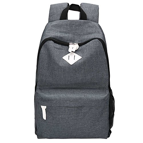Canvas Backpack, Bagerly Casual Laptop School Bag Satchel with Lifetime Warranty (Dr Brown Bottle Cooler Bag compare prices)