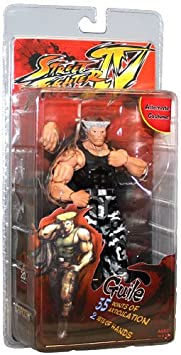 Neca - Street Fighter IV figurine Guile Survival Mode Colors 18 cm