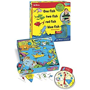 Click to buy Kids Board Games:  Dr. Seuss One Fish Two Fish from Amazon!
