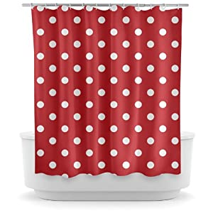 Laura Ashley Striped Curtains Red Polka Dot Kitchen Utensils