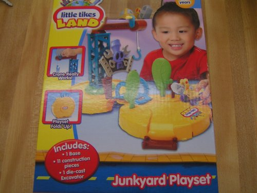 Little Tikes Land Diecast Vehicle JUNKYARD PLAYSET WITH EXCAVATOR - Buy Little Tikes Land Diecast Vehicle JUNKYARD PLAYSET WITH EXCAVATOR - Purchase Little Tikes Land Diecast Vehicle JUNKYARD PLAYSET WITH EXCAVATOR (Little Tikes, Toys & Games,Categories,Play Vehicles,Vehicle Playsets)