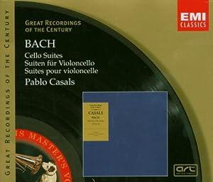 Bach : Suites pour violoncelle 1-6 (Coll. Great Recordings Of The Century)