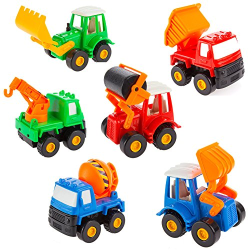 Small Toy Cars For Boys : Fajiabao push pull back truck car toy set mini