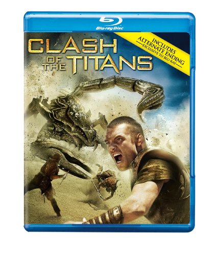 Cover art for  Clash of the Titans [Blu-ray]