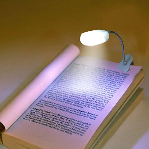 book light for reading in bed by liteqo led book light. Black Bedroom Furniture Sets. Home Design Ideas