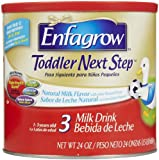 Enfagrow Toddler Next Step Toddler Milk Drink Powder, Natural Milk Flavor, 24 oz (Pack of 4)