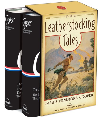 James Fenimore Cooper The Leatherstocking Tales Boxed Set