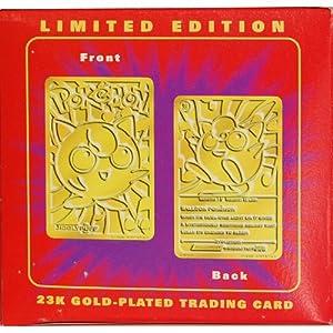 Gold Jigglypuff Card King Gold Card - Red