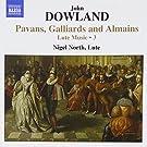 John dowland musique pour luth (volume 3)