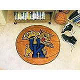 """Kentucky Wildcats Basketball Rug 29"""" diameter"""