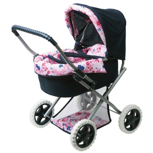 Corolle X0508 - Puppenwagen, blau/rosa, für