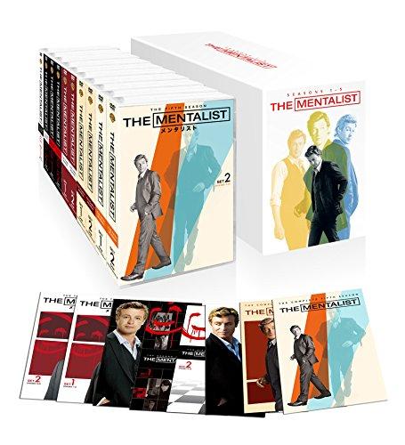 THE MENTALIST/メンタリスト <ファースト~フィフス・シーズン>DVD ボックス (初回限定生産/57枚組)