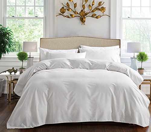 1800 Series Egyptian Collection 3 Line Microfiber 4 Piece Bed Sheet Set (Full, White) (W Hotel Room Scent compare prices)