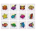 Sea Life Creature Animal Tattoos Pack...