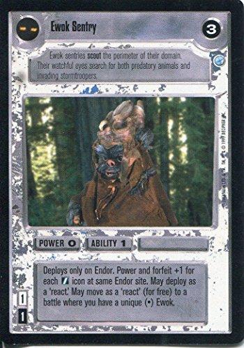 Star Wars-CCG Endor Card-Giacca a vento Ewok Sentry
