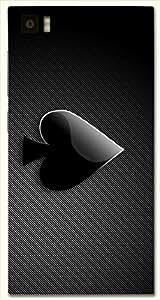 Dazzling multicolor printed protective REBEL mobile back cover for Xiaomi Mi 3 D.No.N-L-11900-XM3