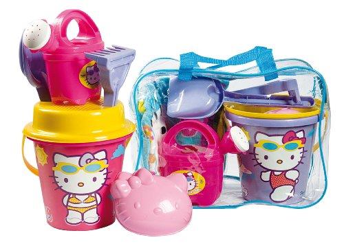 Imagen principal de Hello Kitty - Set playa: bolsa+poncho+accesorios, 33 x 24 cm (Androni DA7241HK)