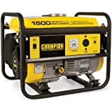 Champion Power Equipment 42436, 1200 Running Watts/1500 Starting Watts, Gas Powered Portable Generator, CARB Compliant