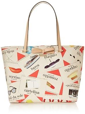 kate spade new york Via Limoni Francis Shoulder Bag,Italian Flashcards,One Size