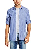 Pepe Jeans London Camisa Hombre Law (Azul)