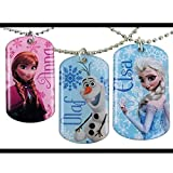 Disney Frozen Elsa , Anna & Olaf Necklace Jewelry Set of 3