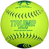 Trump® AK-EZ-CLASW-Y AK-EZ Series 11 Inch Synthetic Leather .44 Core USSSA Softball (Sold in Dozens)
