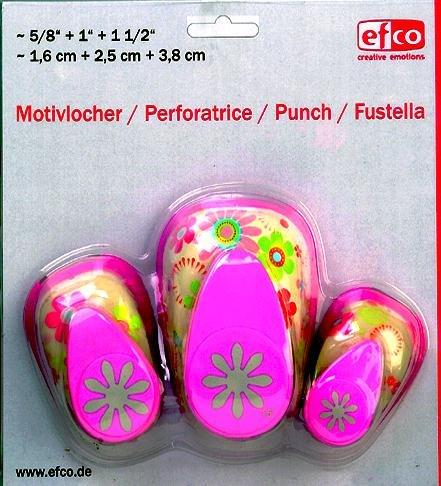 efco-design-daisy-punch-3-teile-set-pink-16-mm-25-mm-37-mm
