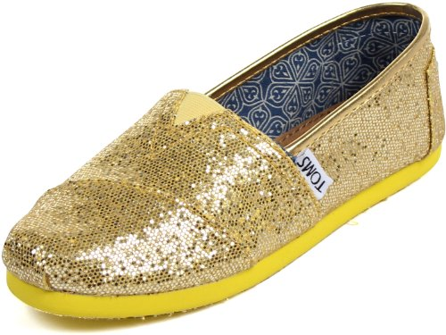 Toms Classic Canary Glitter 001013C13-Canar