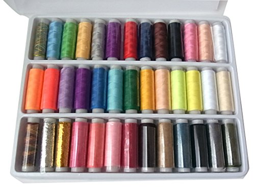 Hand sewing tricks for embroidery standing thread sewing thread (39 colors set) with case