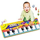 GOTD Music Toys Touch Play Keyboard Musical Music Singing Gym Carpet Mat Kids Gift