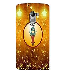 PrintDhaba Zodiac Virgo D-3676 Back Case Cover for LENOVO K4 NOTE A7010a48 (Multi-Coloured)