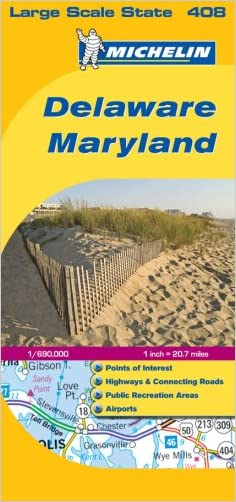 Delaware / Maryland (Michelin, No. 408)