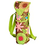 Picnic at Ascot Single Bottle Carrier, Floral
