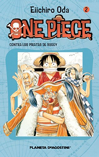 One Piece nº 02: Contra los piratas de Buggy (Manga)