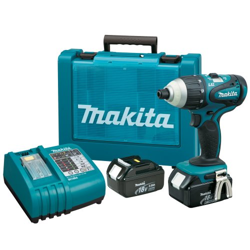 Makita BTP140 18-Volt LXT Lithium-Ion Cordless Hybrid 4-Function Impact-Hammer-Driver-Drill Kit