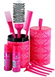 Lee Stafford My Big Fat Party Hair Brush Kit