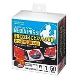 コクヨ CD/DVD用ソフトケース 「MEDIA PASS」 EDC-CME1-50W (50枚) 白 【3個セット】