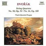 ドヴォルザーク:弦楽四重奏曲第10番 Op. 51, 第14番 Op. 105
