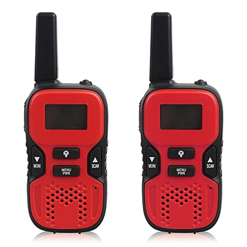 Walkie Talkies Rechargeable Channel Handheld