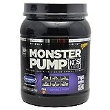 Monster Milk Monster Pump N.O.S, Blue Raspberry, 600 Grams