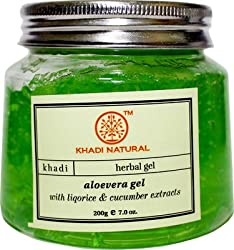 Khadi Natural Aloevera Gel, 200g (Green)