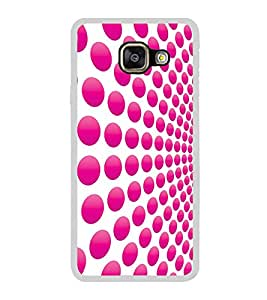 Pink Dot Pattern 2D Hard Polycarbonate Designer Back Case Cover for Samsung Galaxy A5 (2016) :: Samsung Galaxy A5 2016 Duos :: Samsung Galaxy A5 2016 A510F A510M A510FD A5100 A510Y :: Samsung Galaxy A5 A510 2016 Edition