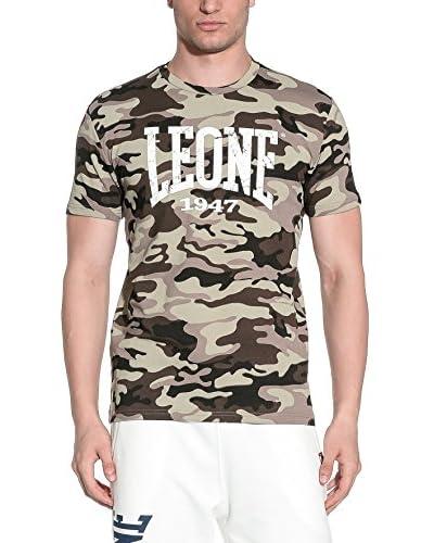 LEONE 1947 T-Shirt Manica Corta [Marrone]