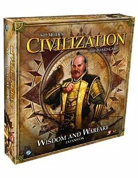 Civilization Wisdom and Warfare Expansion Board Game