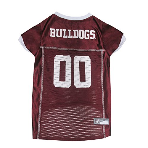 Pets First Collegiate Mississippi State Bulldogs Dog Mesh Jersey, Medium (Bulldog Pet Clothing compare prices)