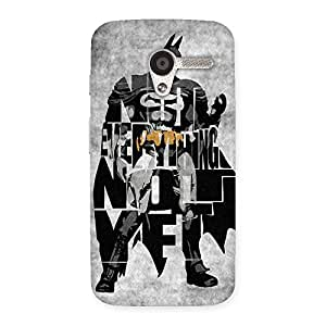 Cute Everything Knight Multicolor Back Case Cover for Moto X