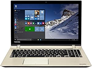 "Toshiba P50-C-18E Ordinateur Portable 15"" Aluminium brossé (Intel Core i5, 4 Go de RAM, Disque dur 1 To, Windows 10)"